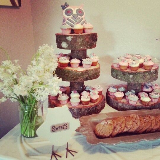 Rustic Themed Baby Shower Decorations