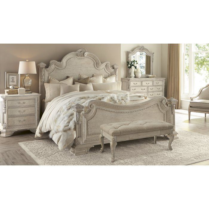 Gosson Panel Configurable Bedroom Set Avec Images Mobilier De Salon Meubles Shabby Chic Meuble Chambre A Coucher