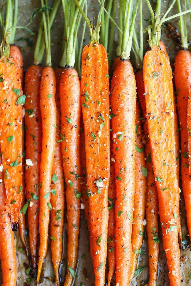 Carrots are rich in beta-carotene, a form of provitamin A that's been linked to combatting UV radiation.