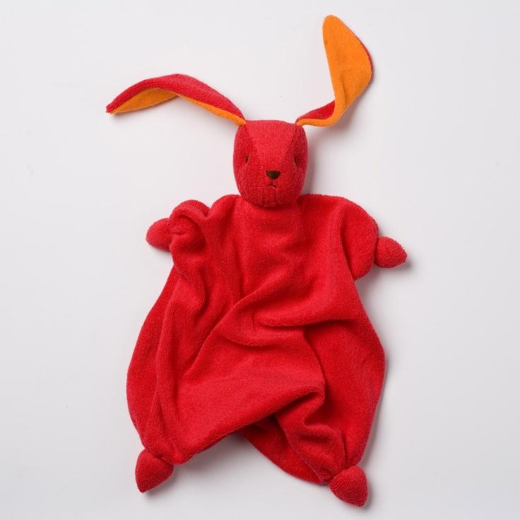 Tino Bonding Doll Red Orange