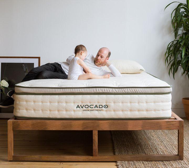avocado green mattress natural latex greenguard gold certified