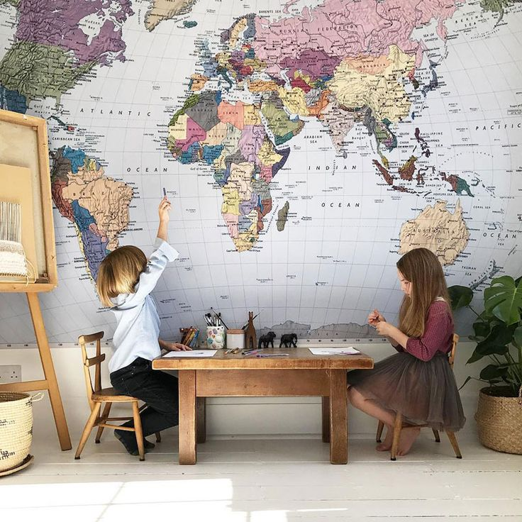 Travel Inspired Kids' Rooms for Mini Globetrotters