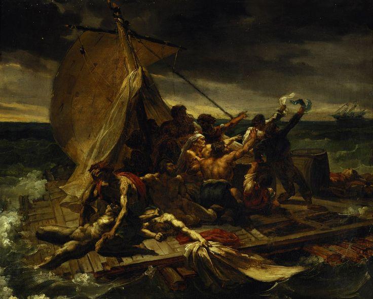 Théodore Géricault - The Study for The Raft of the Medusa, 1818-1819