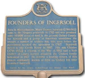 WELCOME TO INGERSOLL, ONTARIO
