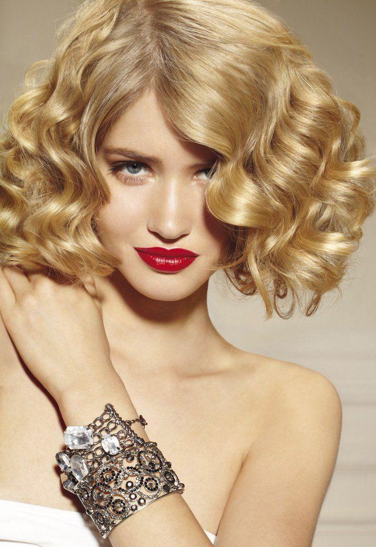 cool Модная химическая завивка на короткие волосы (50 фото) — Идеи стрижек и причесок с кудрями Читай больше http://avrorra.com/himicheskaja-zavivka-na-korotkie-volosy-foto/