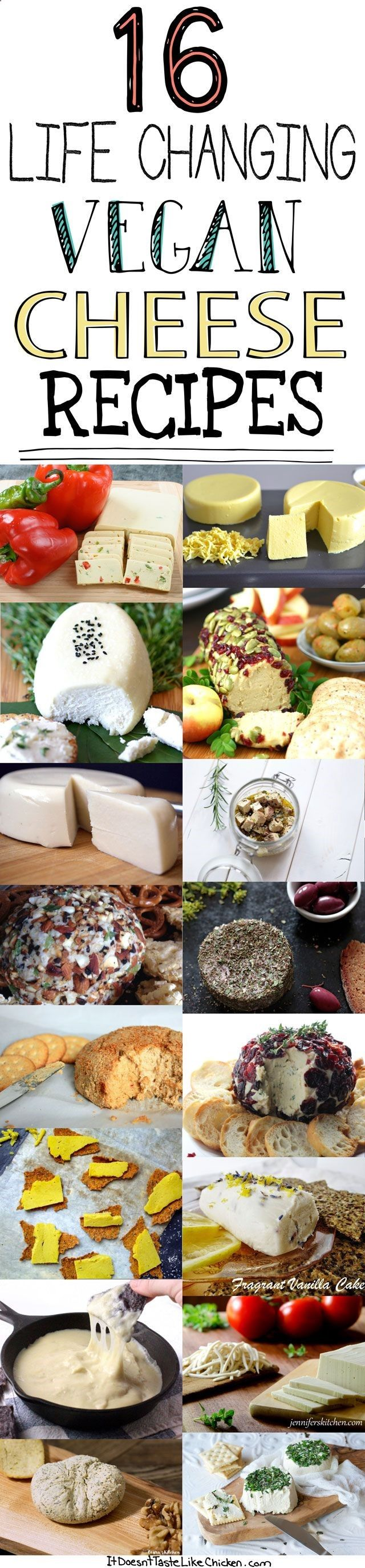Eat Stop Eat To Loss Weight - 16 Life Changing Vegan Cheese Recipes! Want to go vegan but love cheese? No problem! These dairy free cheese recipes will satisfy all your cheesy needs. #itdoesnttastelikechicken - In Just One Day This Simple Strategy Frees You From Complicated Diet Rules - And Eliminates Rebound Weight Gain