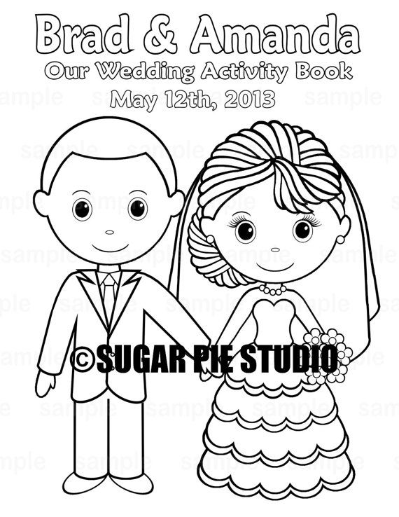 25  unique wedding coloring pages ideas on pinterest