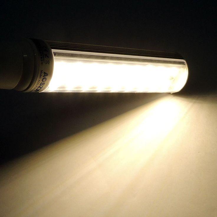 Bombilla PL LED E27 10W Es la bombilla PL LED para downlights más potente del mercado. http://www.barcelonaled.com/bombillas-pl-led/266-bombilla-pl-led-e27-smd5630-10-watios-20-cm.html