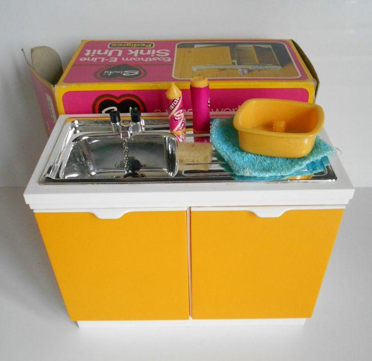 Sindy Doll Sindy House Vintage Sindy Eastham E Line Sink Unit