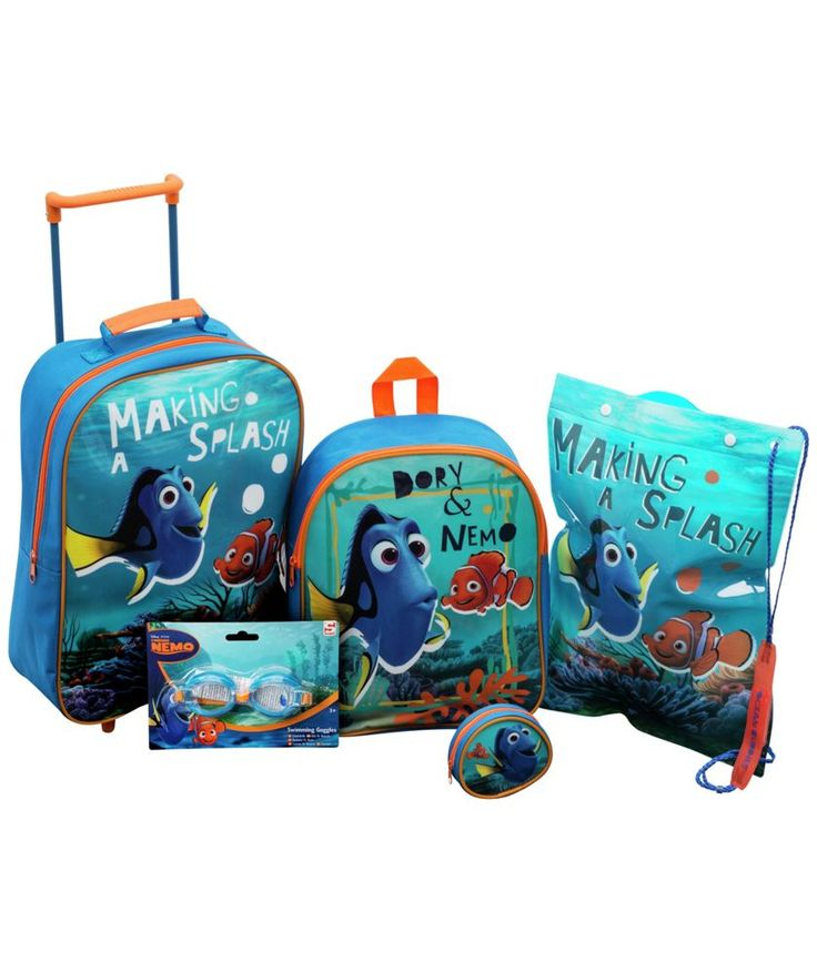 Buy Finding Dory 5 Piece Luggage Set at Argos.co.uk - Your Online Shop for Childrens luggage.