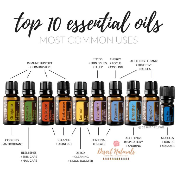 The Top 10 Essential Oils You Need In Your Home Now