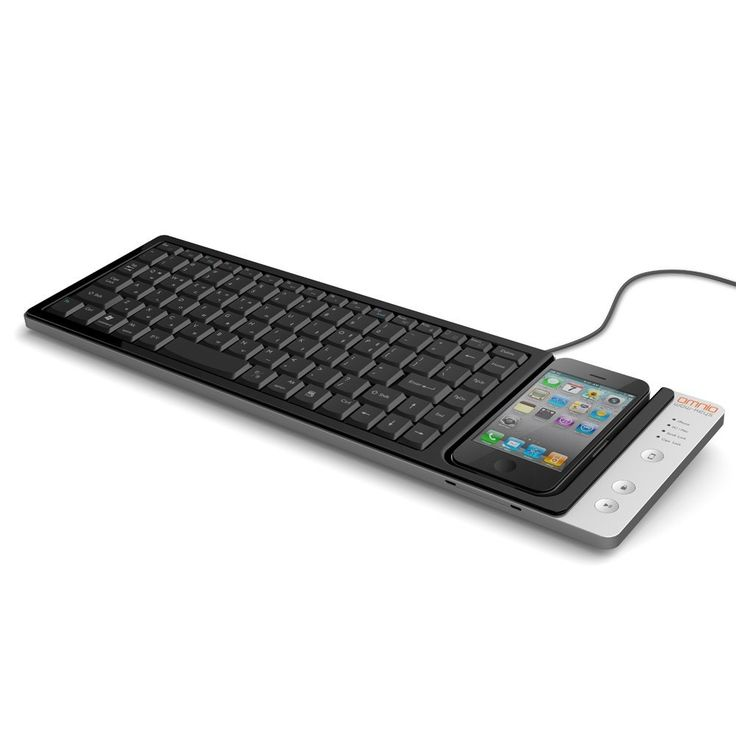 The obvious place to keep your iPhone when using your computer.#Repin By:Pinterest++ for iPad#