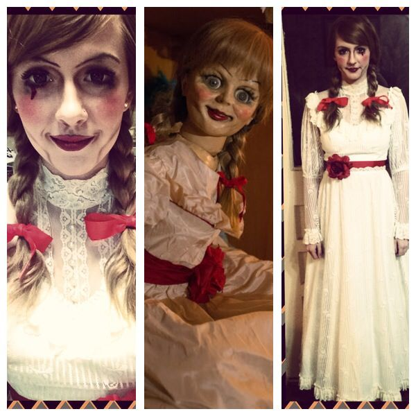 my annabelle costume costumes makeup annabelle halloween makeup halloween seasonal - Halloween Scare Ideas