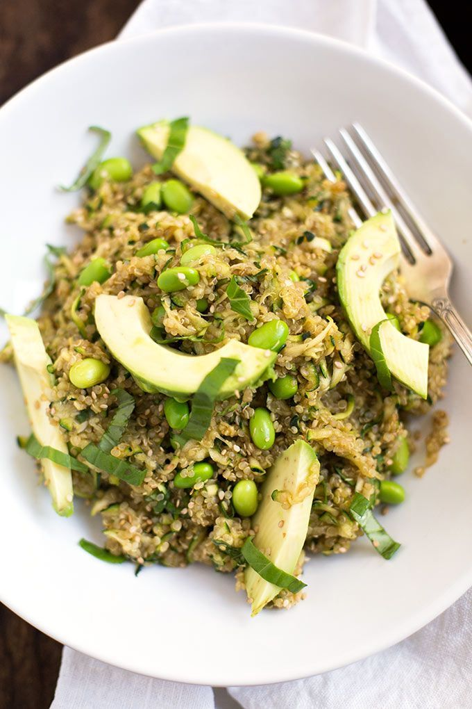 Quinoa salat clean eating