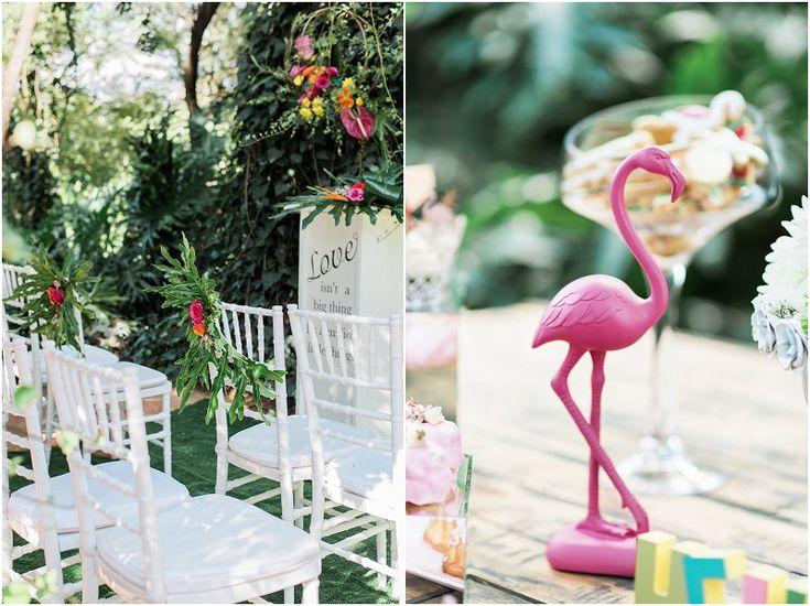 Tropical Safari Wedding Casablanca Manor Wedding Venue Photo credit: Ironrose