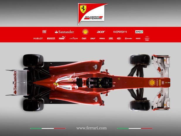Ferrari's New Formula One Car