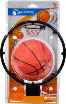 Игровой набор Баскетбольная корзина с мячом Simba (7400675)