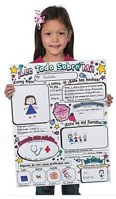 ¡Lee Todo Sobre Mí! Poster Pack (30)-Carlex Online.com