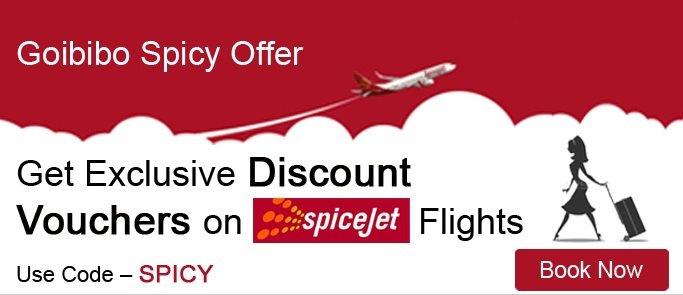 Goibibo Spicy Offer  FREE Rs.2500/- Discount Voucher on SpiceJet Flights Book now http://www.goibibo.com/offers/spice/  #Goibibo #FlightBookingOffers