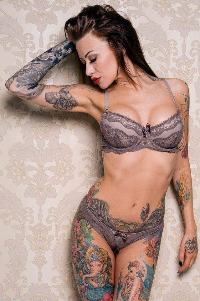 Nude tattoo girls Nude Photos 35