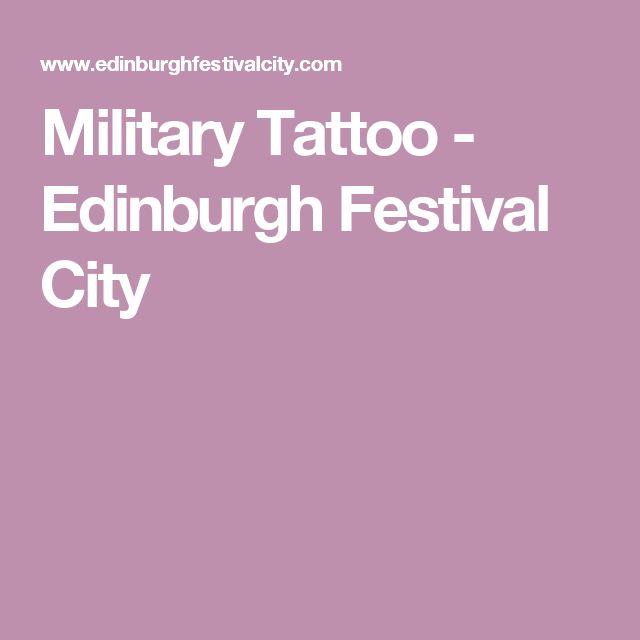 Military Tattoo - Edinburgh Festival City
