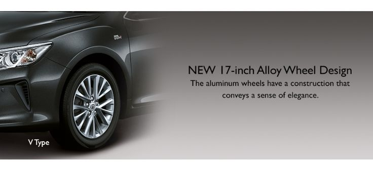 Toyota All New Camry - Alloy Wheel - Only at AUTO2000