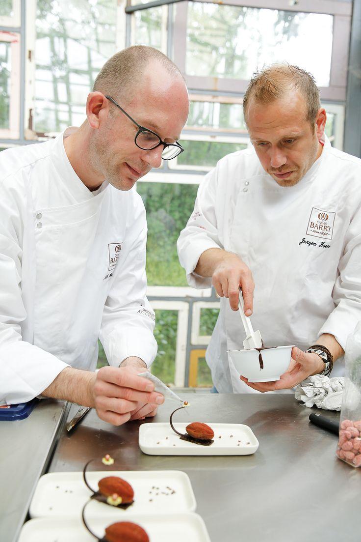 Behind the scene #nilshendricks @Jurgenkoens #CacaoBarry #Creativeday #Purityfromnature #chocolate