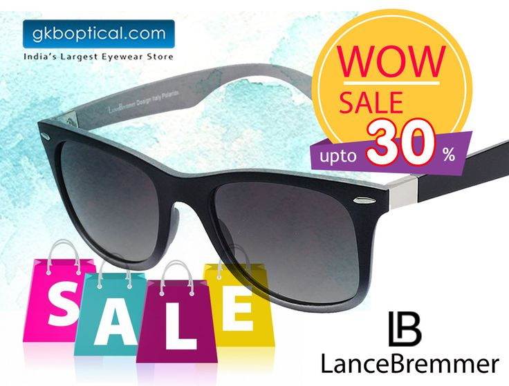 Shop the latest branded sunglasses from GKB Opticals. Shop Lance Bremmer LBS 1614 C2, from an attractive collection of Sunglasses online in India at GKB Opticals. Shop at http://bit.ly/29GUPCb