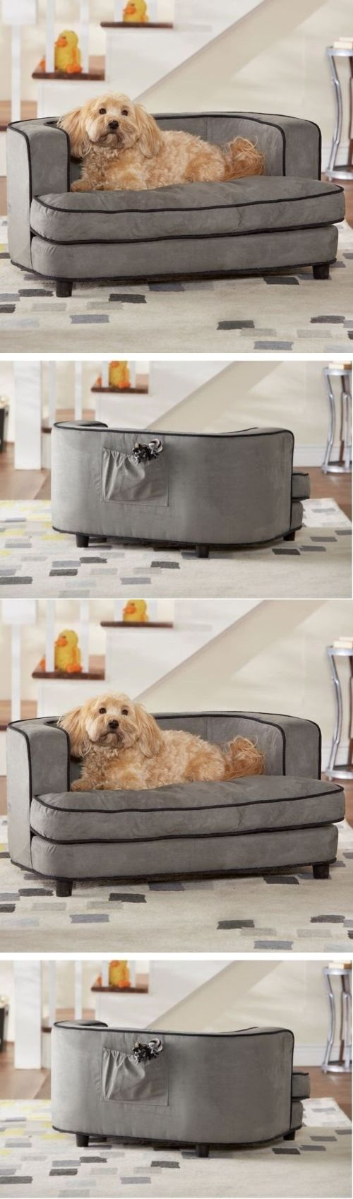 Beds 20744: Big Dog Bed Pet Couch Elevated Sofa Lounge Sleeper Cushion Ultra Plush Cover BUY IT NOW ONLY: $156.99