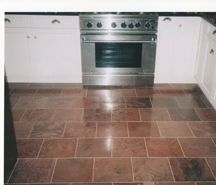 Kitchen Tile Layout Interior Home Decorating Flooring