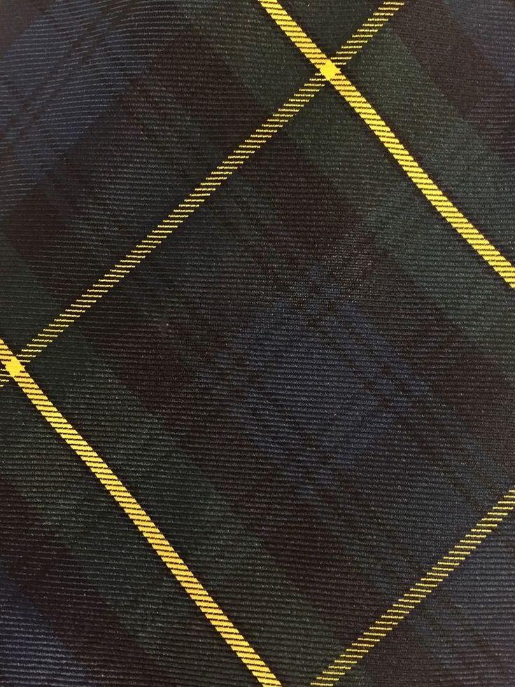 Vtg Abercrombie and Fitch Neck Tie Tartan Plaid Silk Uniform Ivy School #AbercrombieFitch #NeckTie #All