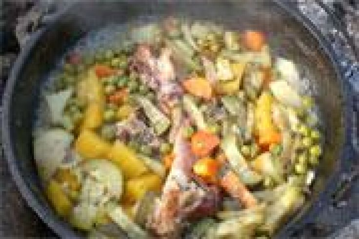 Dianne's Bacon Hock Soup!