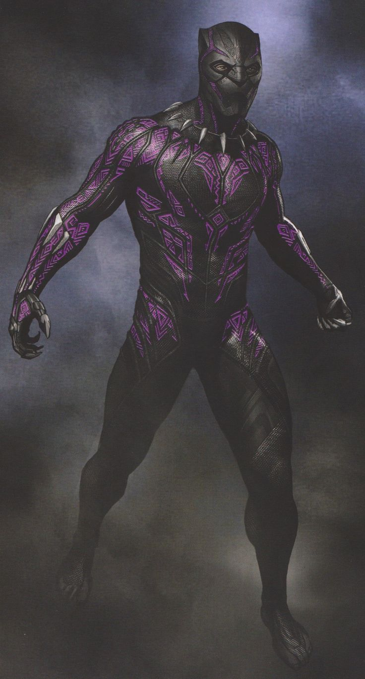 BLACK PANTHER: Amazing New Concept Art Shows Futuristic And Comic Accurate Takes On T'Challa's Suit - Part 2