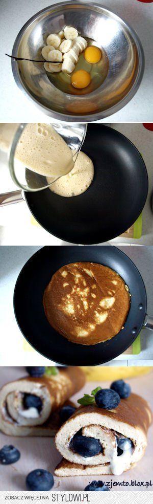 Bananowy omlet