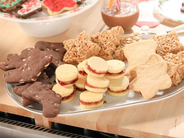 Get Double-Chocolate Butter Cookies Recipe from Food Network
