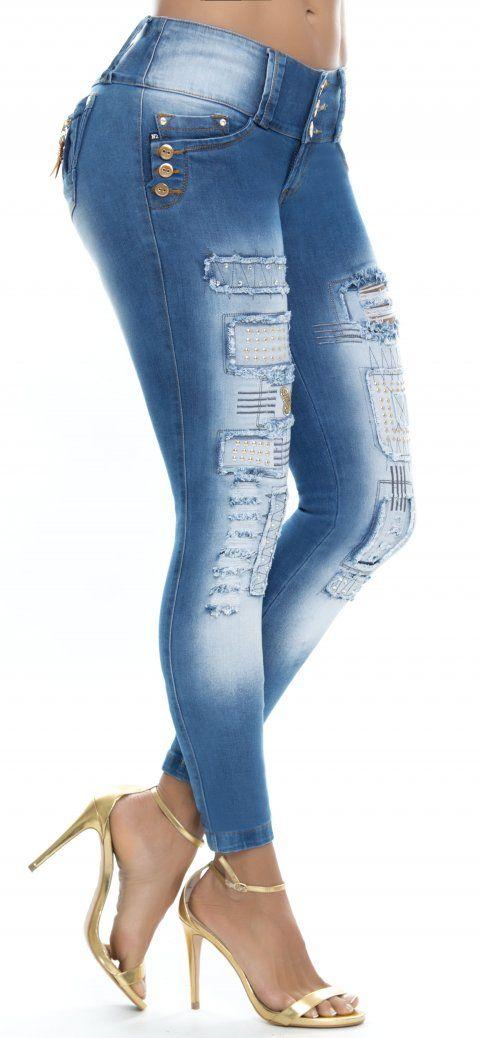 Jeans levanta cola ENE2 93257