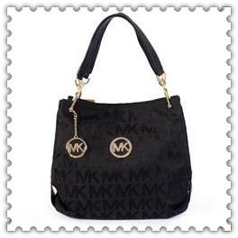 LOOK magazine are giving away this fab Michael Kors Pebbled Large Black Shoulder Bags! #fashion