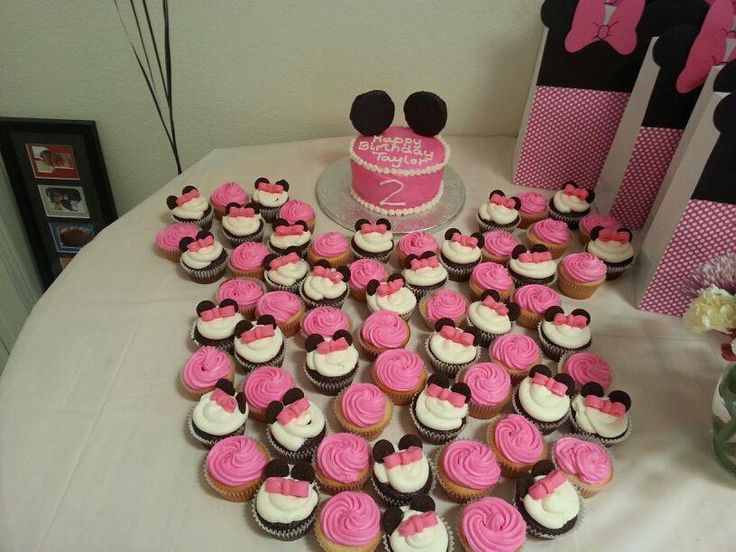 MINNIEMOUSE DECORATIONS | Minnie Mouse 2nd birthday by lawhead54 | Cake Decorating Ideas