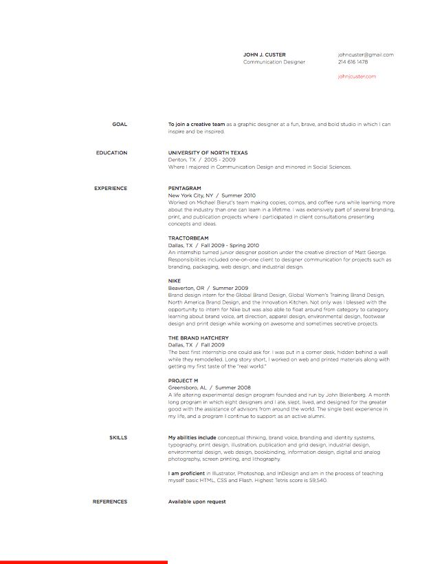 80 Best Résumé + Invoice Images On Pinterest | Resume Layout, Cv