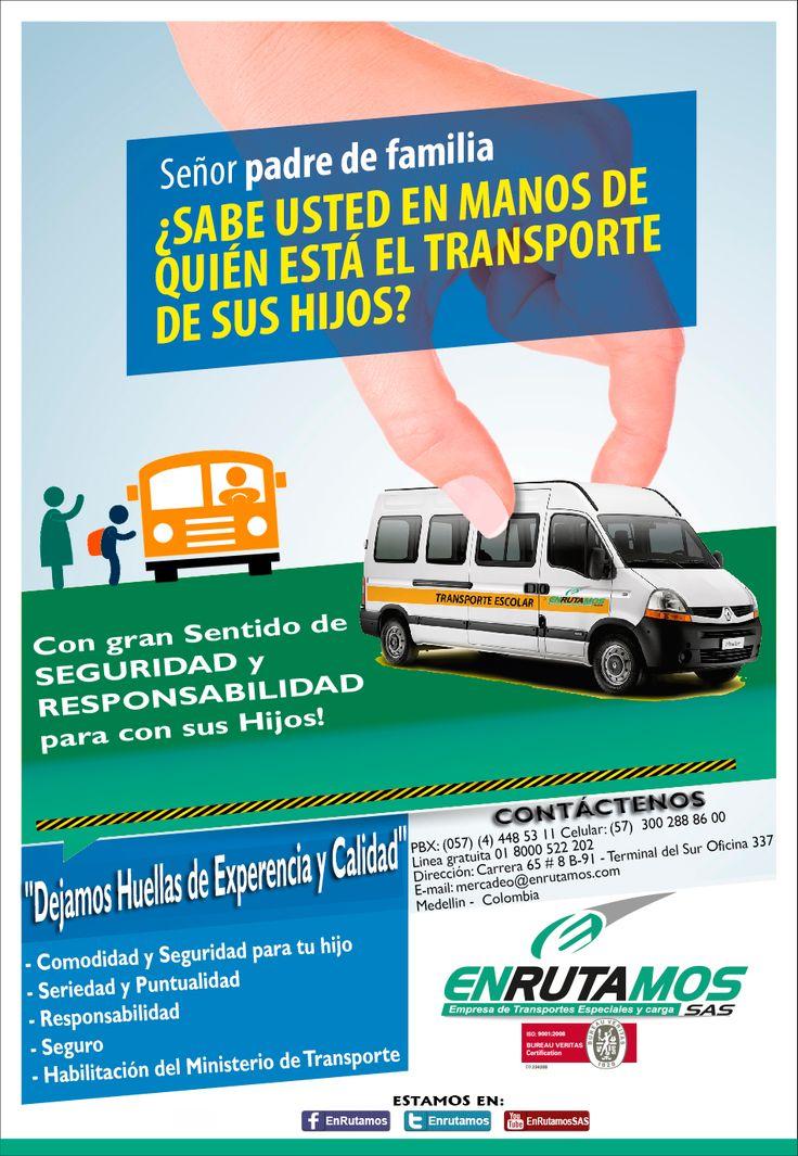 EL MEJOR TRANSPORTE ESCOLAR!!