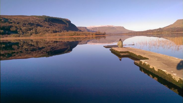 House Hunting in November in Ireland. Glenade Lough in County Leitrim has it's own lake monster ( not photographed ).