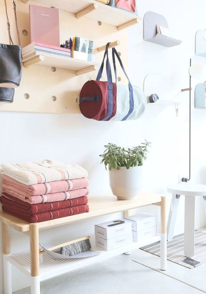 Neatly Stacked And Organized Home Accessories With A Scandinavian Modern Minimalist Style These Accessories Can Be In 2020 Home Decor Home Accessories Interior Design