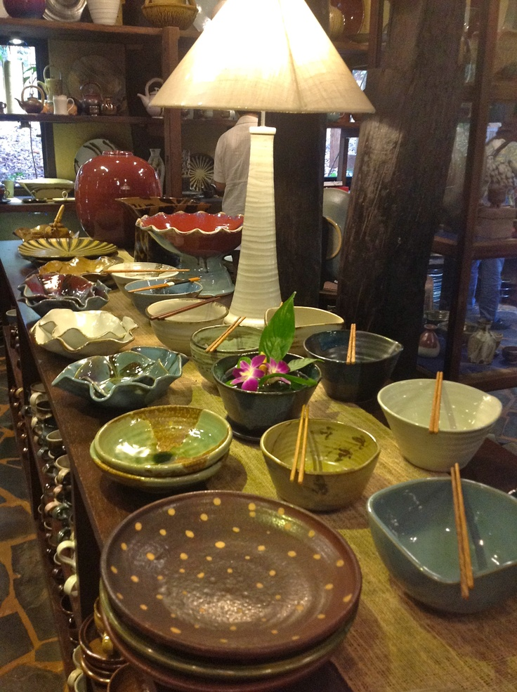 Doy Din Dang Pottery-Chiang Rai Thailand- Loved the pottery  dddpottery.com