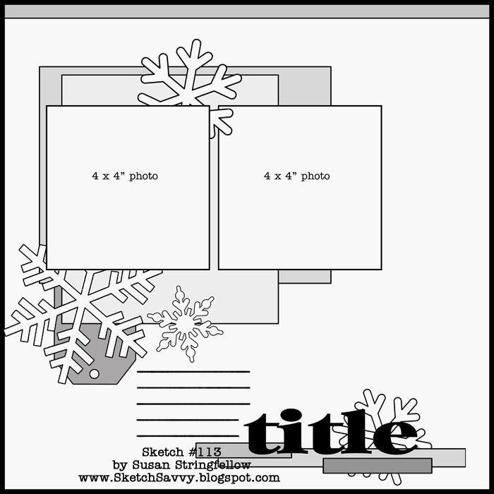 Скрапбукинг новогодние скетчи для открыток с примерами