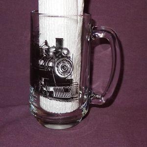 Huckleberry Railroad Flint Michigan Clear Coffee Mug Cup 12 oz  | eBay