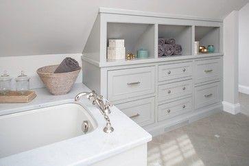 New Canaan Bath - traditional - bathroom - bridgeport - Shelter Interiors llc