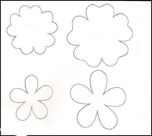 Plantillas flores