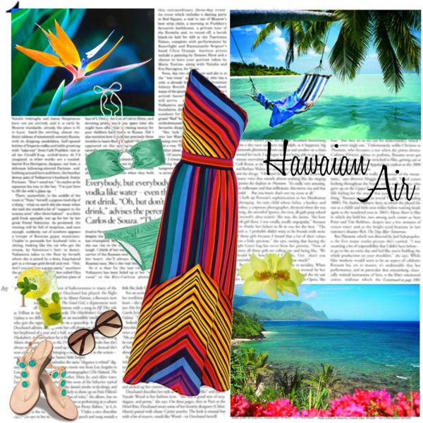 """Hawaian Air"" by helena99 on Polyvore"