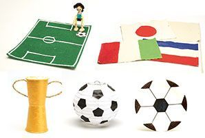 Five FIFA World Cup craft activities for kids by Educational Experience