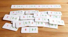 Existen muchas actividades matemáticas con un dominó, juego tradicional está presente en la mayoría de casas y escuelas.